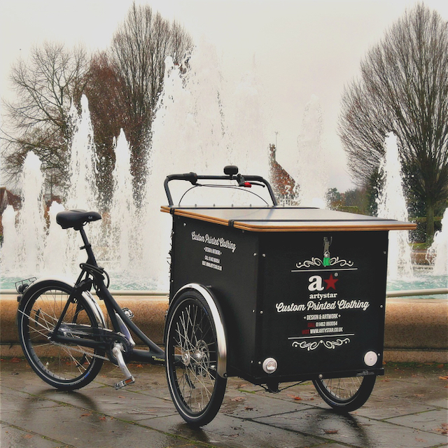 The Artystar Cargo Bike