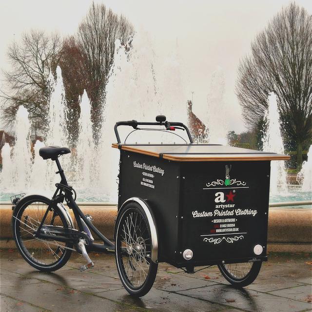 The Artystar Cargo Bike