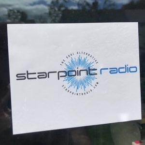 Starpoint-radio-cling-sticker